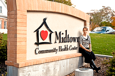 Midtown Community Health Center Sign